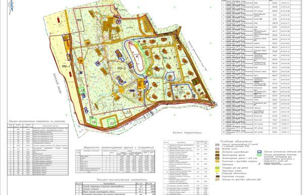 Проект планировки и проект межевания территории в Курортном районе Санкт-Петербурга.