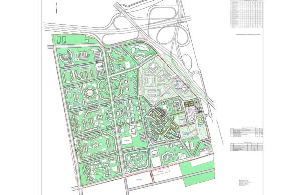 Проект планировки и проект межевания территории в пос. Шушары Пушкинского р-на Санкт-Петербурга